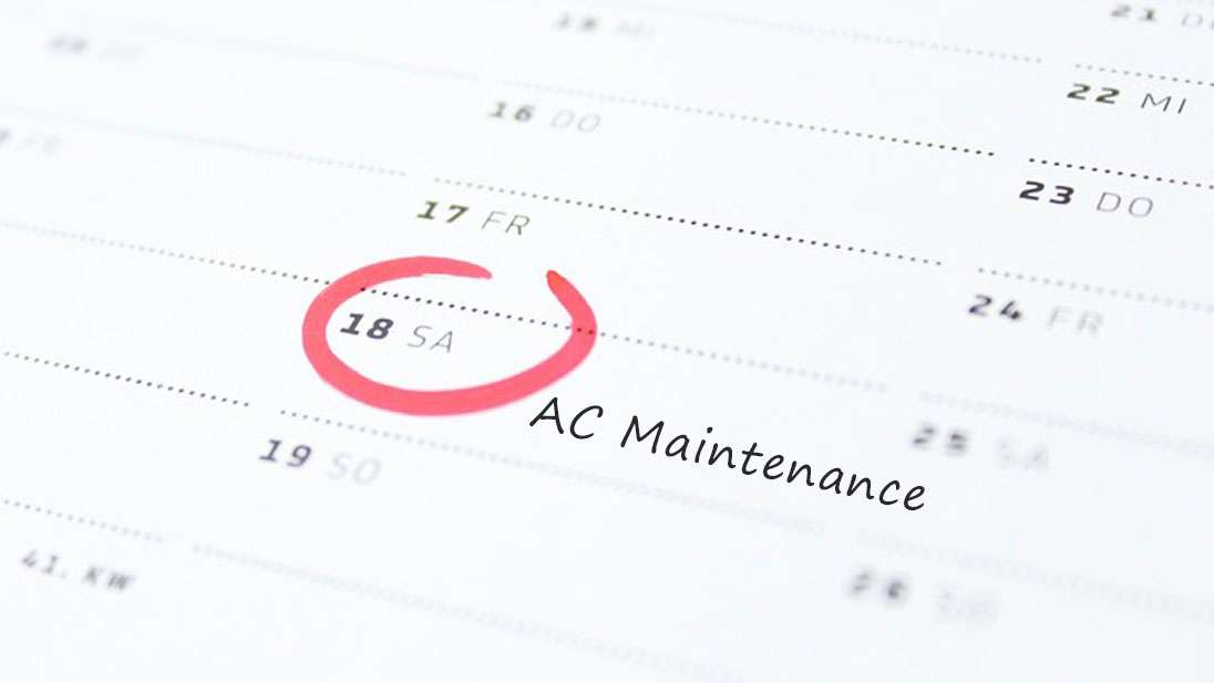 HVAC maintenance service schedule